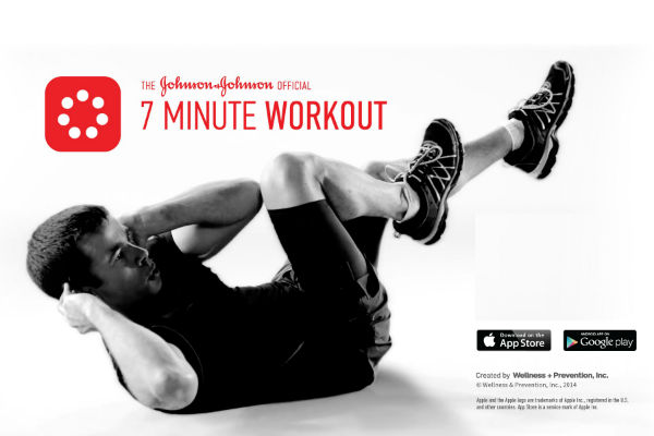 Johnson & Johnson 7 Minute Workout dor Android