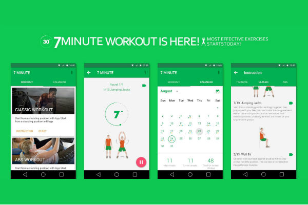 Abhiskking 7 Minute Workout Apps