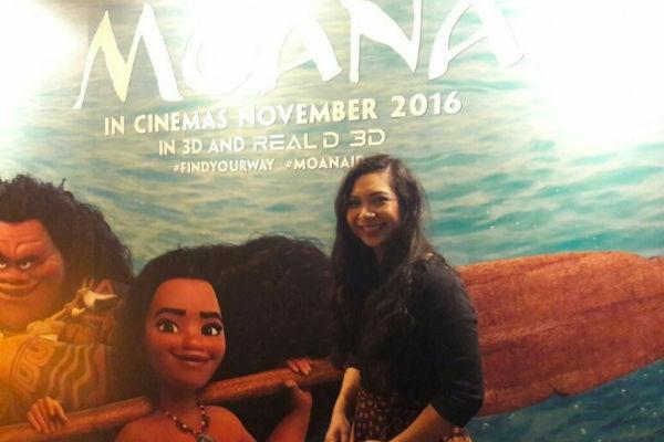 Griselda sang animator Disney Moana asal Indonesia