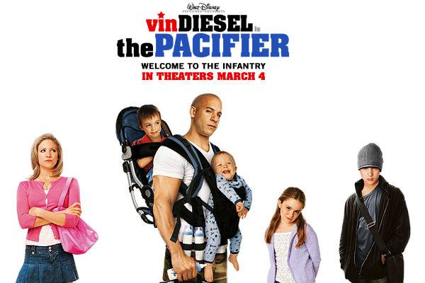 Vin Diesel bermain dalam film Disney