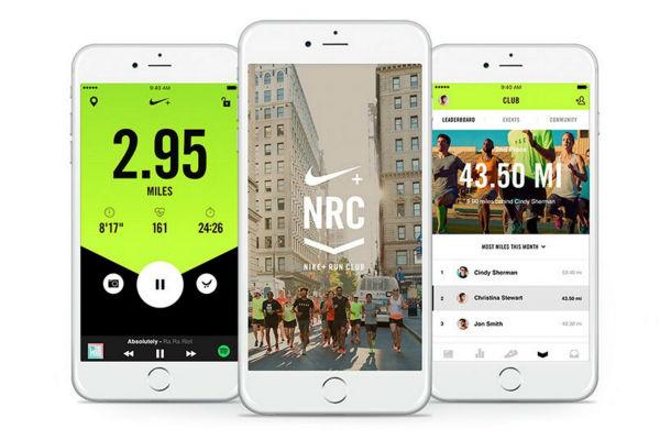 Aplikasi Nike+ Running