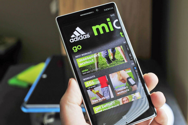 Adidas miCoach Train and Run